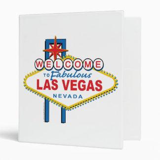 Welcome to Las Vegas 3 Ring Binder