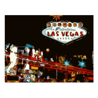 Welcome to Las Vegas Baby! Postcard