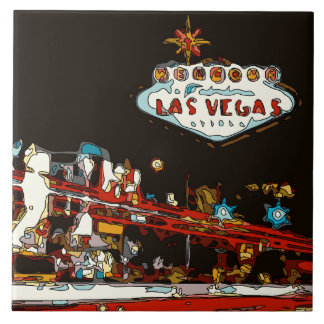 Welcome to Las Vegas Baby! Tile