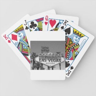 Welcome to Las Vegas Bicycle Playing Cards