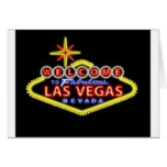 Welcome to Las Vegas Notecard Greeting Cards