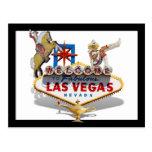 Welcome to Las Vegas Postcard