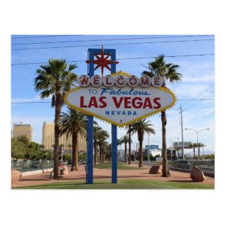 Welcome To Las Vegas Postcard! Postcard