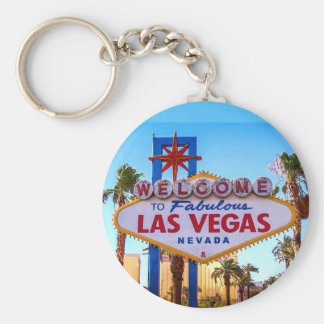 Welcome to Las Vegas Sign Keychain