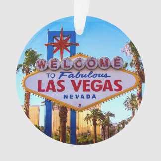 Welcome to Las Vegas Sign Ornament