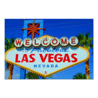 Welcome to Las Vegas Sign Print / Poster