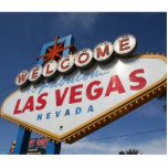 Welcome To Las Vegas Standing Photo Sculpture