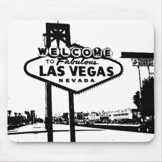 Welcome to Las Vegas Vector Graphic Mousepad
