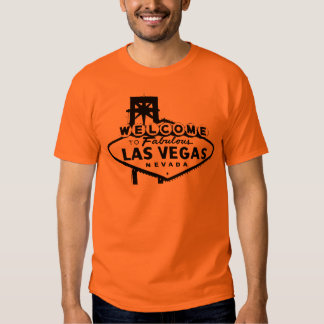 Welcome to Las Vegas Vector Graphic Tee Shirt