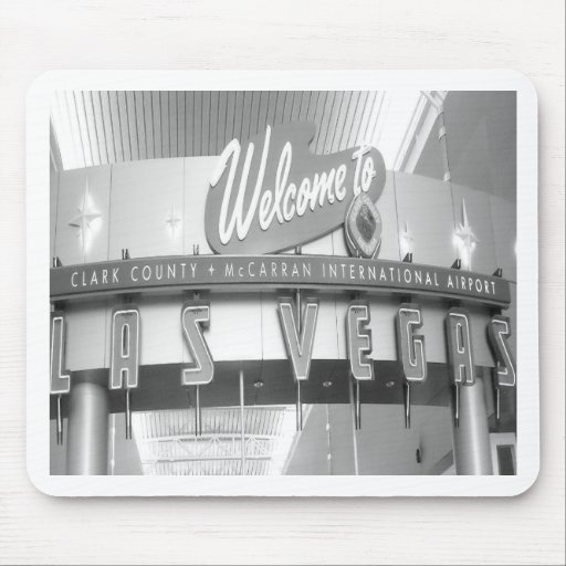Welcome to Las Vegas Vintage Mouse Pads