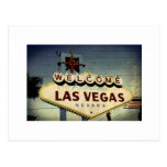"""Welcome To Las Vegas"" Vintage Post Card"