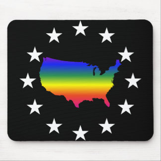 Welcome to LGBT Queer America Mouse Pad