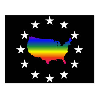Welcome to LGBT Queer America Postcard
