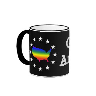 Welcome to LGBT Queer America Ringer Mug