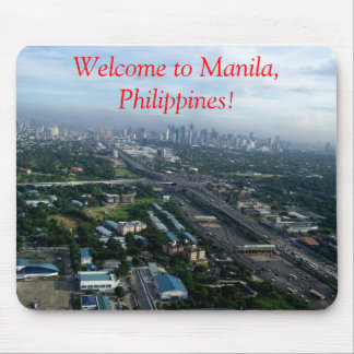 Welcome to Manila Mouse Pad