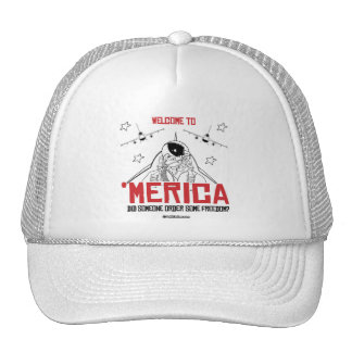 Welcome to Merica - Did someone order some freedom Trucker Hat