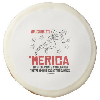 Welcome to Merica - These Colors Never Run Sugar Cookie