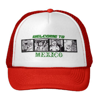 Welcome to Mexico Trucker Hat