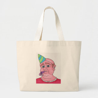 Welcome to middle age. large tote bag