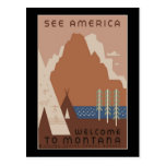 Welcome To Montana Post Cards