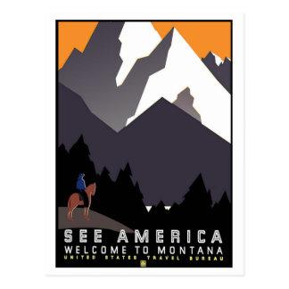 Welcome to Montana Postcard