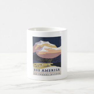 Welcome to Montana - See America WPA Coffee Mug