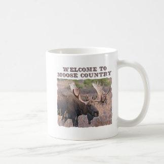 Welcome to Moose Country Coffee Mug