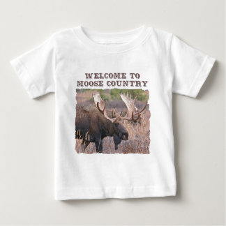 Welcome to Moose Country Infant T-shirt