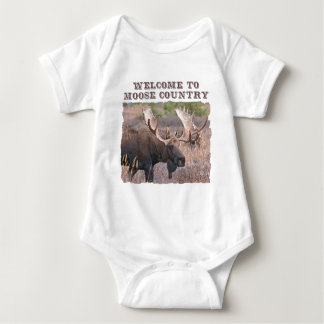 Welcome to Moose Country Shirt
