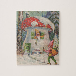 Welcome to Mushroom House Jigsaw Puzzle