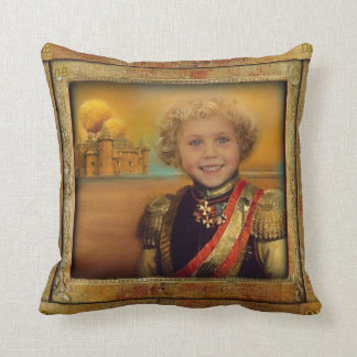Welcome To My Castle............. Throw Pillow