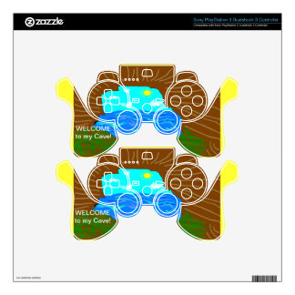 Welcome To My Cave Playstation Controller Skin PS3 Controller Skins