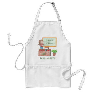 Welcome to, my classroom ! Custom teacher Adult Apron