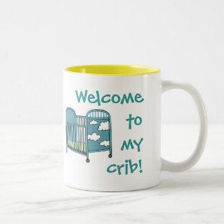 Welcome To My Crib Mug