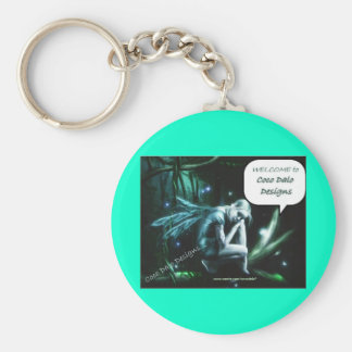 Welcome to My designs - Customized Basic Round Button Keychain
