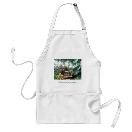 Welcome to my garden! apron