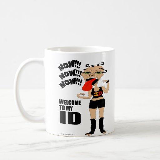 Welcome To My ID Mugs
