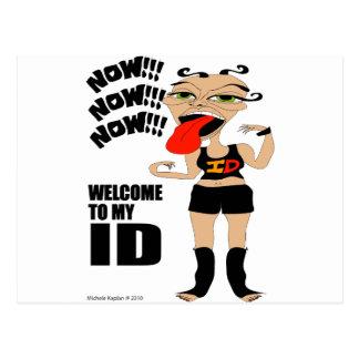 Welcome To My ID Postcard