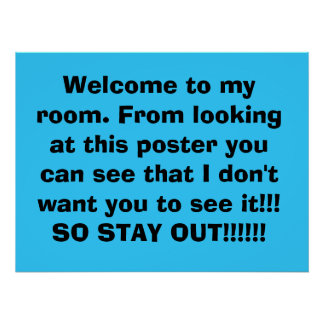 stay out of my room gifts on zazzle. Black Bedroom Furniture Sets. Home Design Ideas