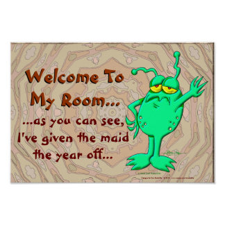 Welcome To My Room... Poster
