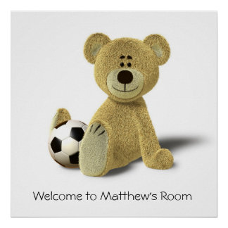 Welcome to My Room!  (Soccer) Poster