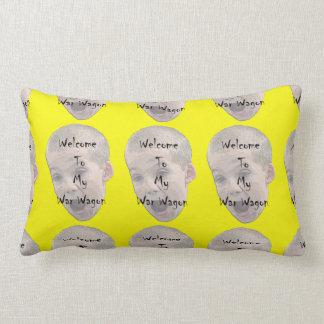 Welcome To My War Wagon Lumbar Pillow
