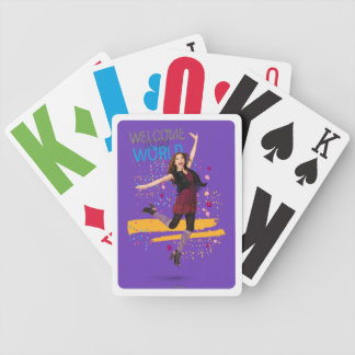 Welcome to My World Bicycle Playing Cards