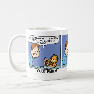 """""""Welcome to My World"""" Garfield Comic Strip Coffee Mug"""