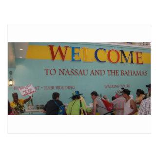 Welcome to Nassau Postcard