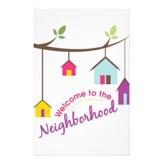 Welcome To Neighborhood Stationery