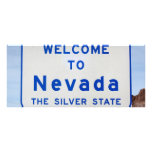 Welcome to Nevada Full Color Rack Card