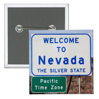 Welcome to Nevada Pinback Button