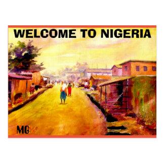 WELCOME TO NIGERIA MOJISOLA A GBADAMOSI POSTCARD