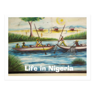 Welcome To Nigeria Post Cards